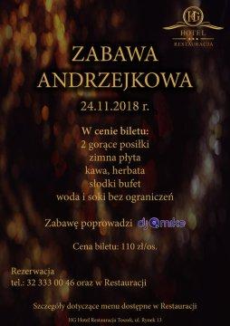 ANDRZEJKI w piwnicach HG HOTEL - Andrzejki