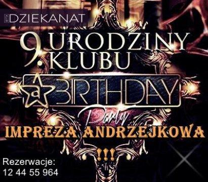 ANDRZEJKI KLUB DZIEKANAT - Andrzejki