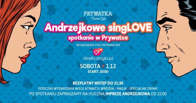 Andrzejkowe SingLOVE Spotkanie wPrywatce - Andrzejki
