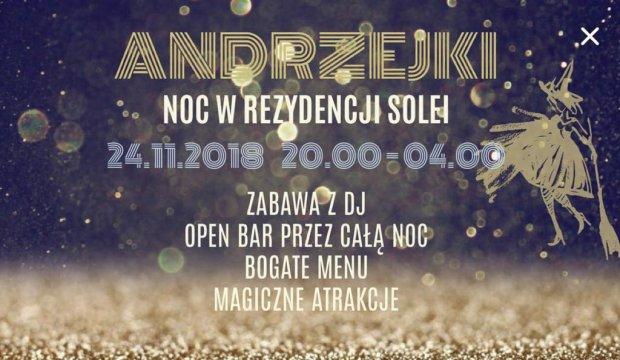 Andrzejki 2018 w Rezydencji Solei !  - Andrzejki