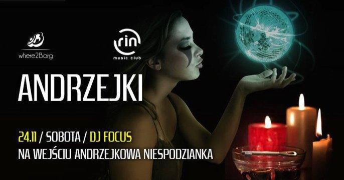 Andrzejki 2018 w RIN music club - Andrzejki