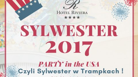 PARTY in the USA ! Sylwester w Trampkach