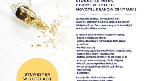 NOVOTEL KRAKOW CENTRUM- NYE PARTY - Sylwester