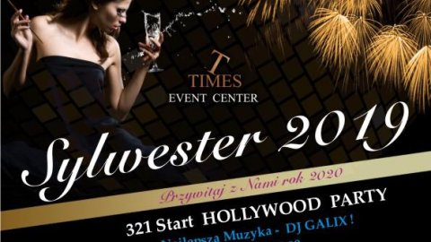 321 Start HOLLYWOOD PARTY - Sylwester