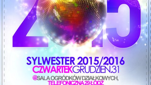 Sylwester 2015/2016 LAST MINUTE  - Sylwester