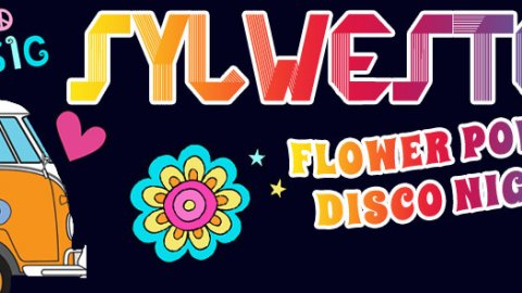 Sylwester Flower Power Disco Night - Sylwester