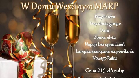 SYLWESTER 2015/2016 Dom Weselny MARP - Sylwester